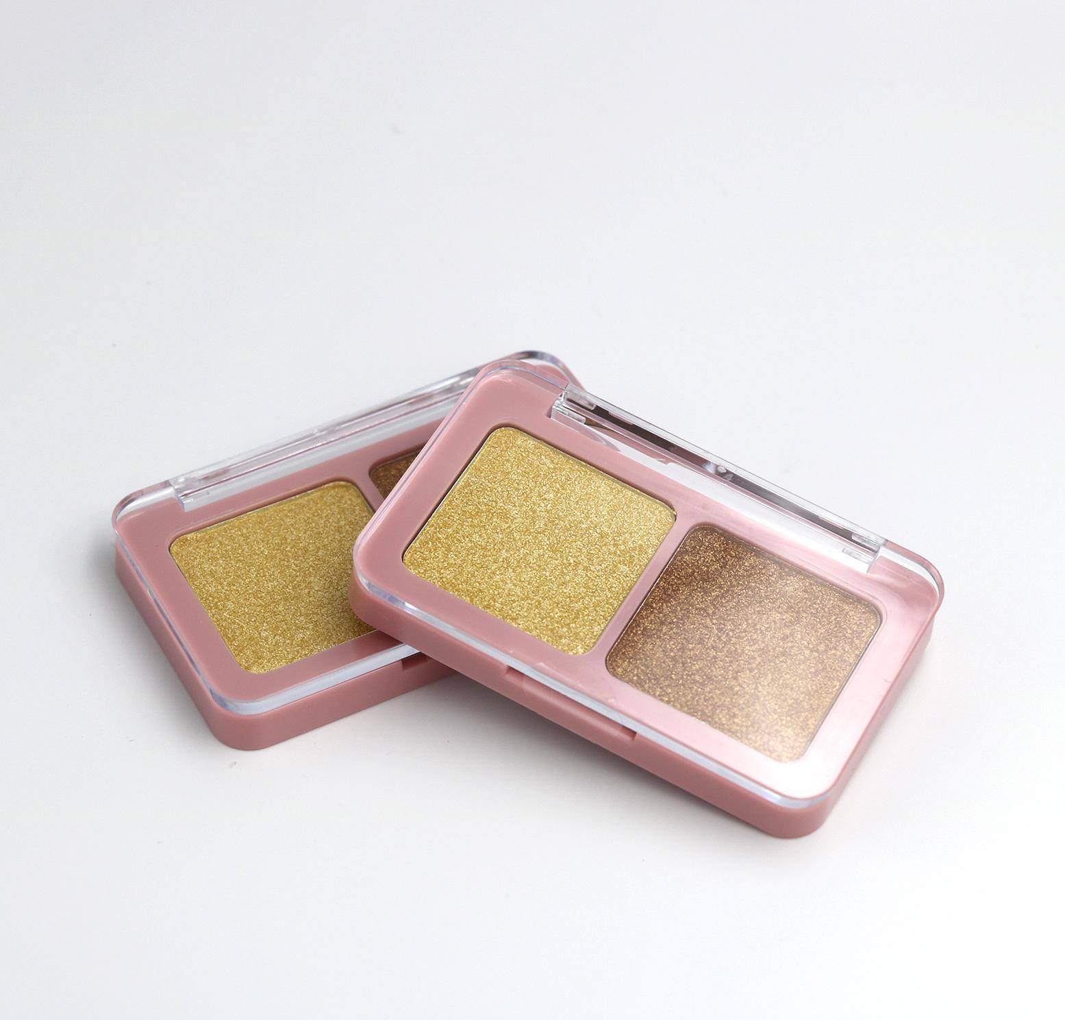 Private label 2 colors Bronzer Palette - FA0243