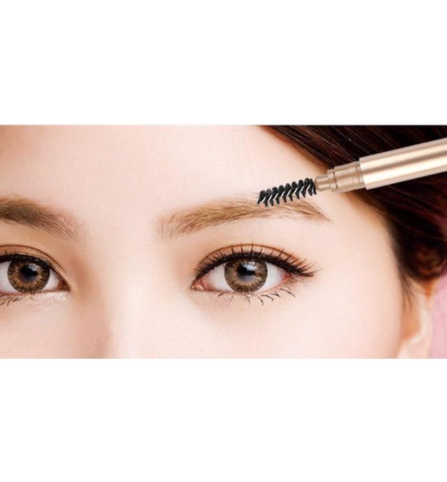 Private label Auto Eyebrow Pencil With Brush - EL0131