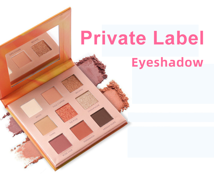 Custom eyeshadow palette with pictures and names - ES0618