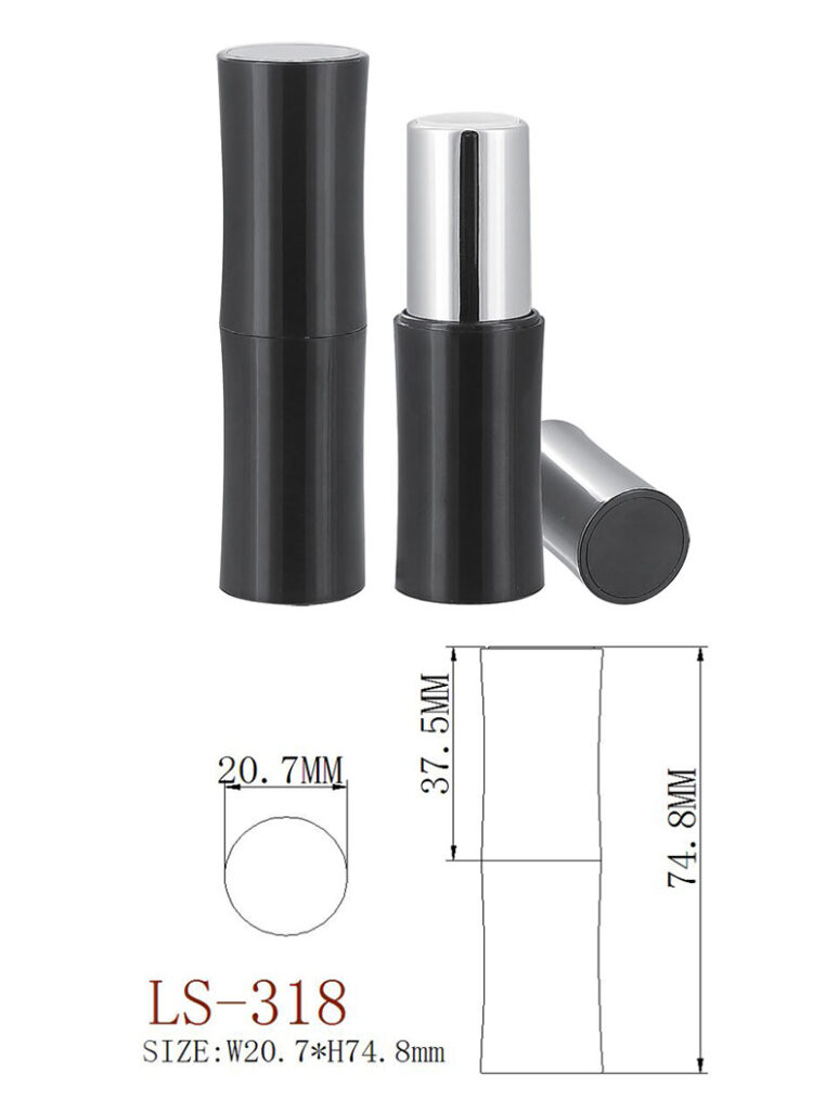 Private lable empty Lipstick tube packaging catalog