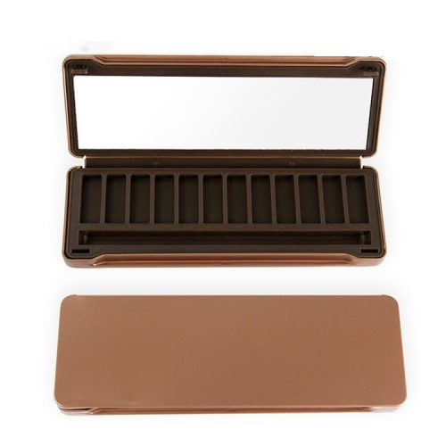 Private label 12 colors eyeshadow palette with Metal Container ES0406